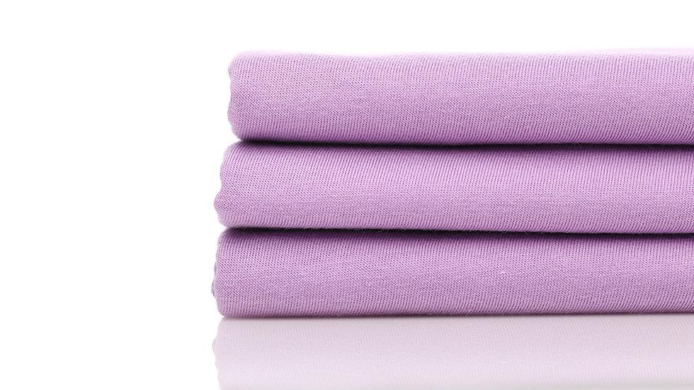 Cotton Combed 30s - Ungu Muda