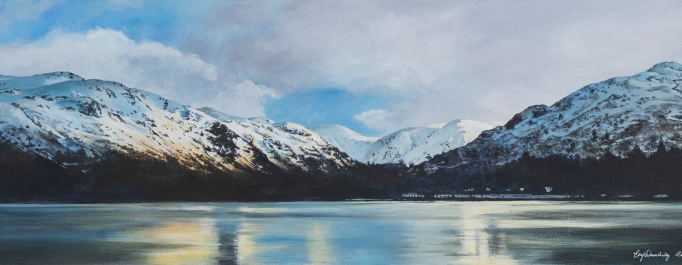 Ullswater after the snow