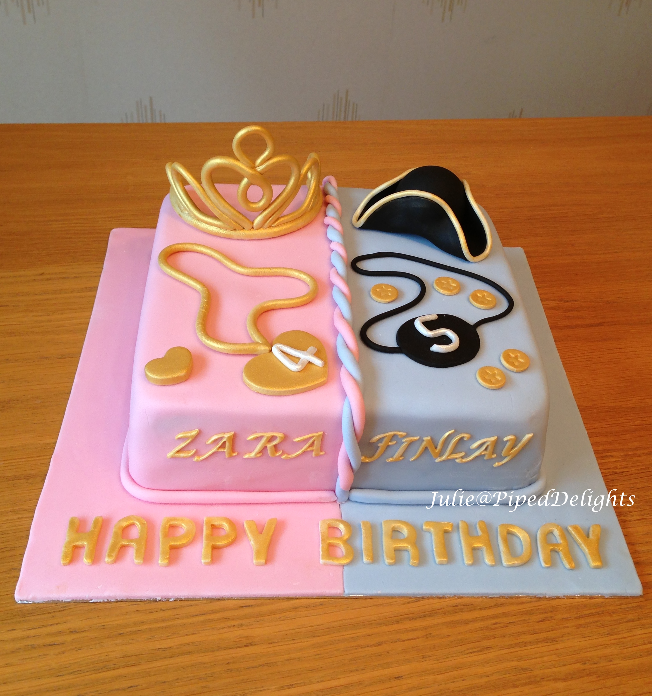 Stupendous Piped Delights Julie Cakes Cupcakes Guildford Surrey Personalised Birthday Cards Xaembasilily Jamesorg
