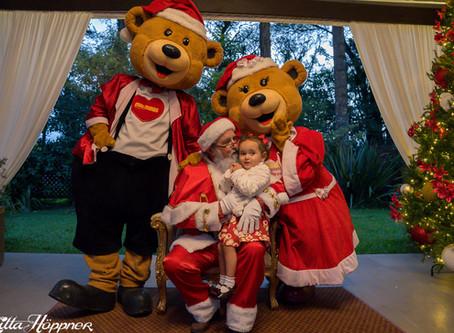 Chegada do Papai Noel no Ritta Höppner
