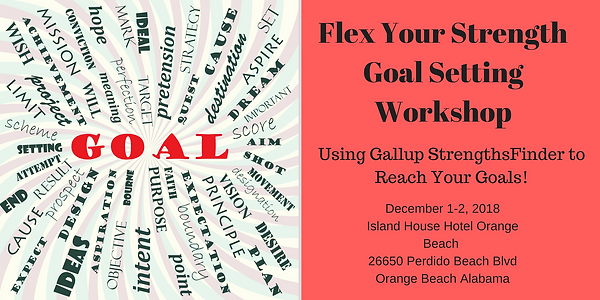 Flex Your StrengthGoal Setting Workshop.