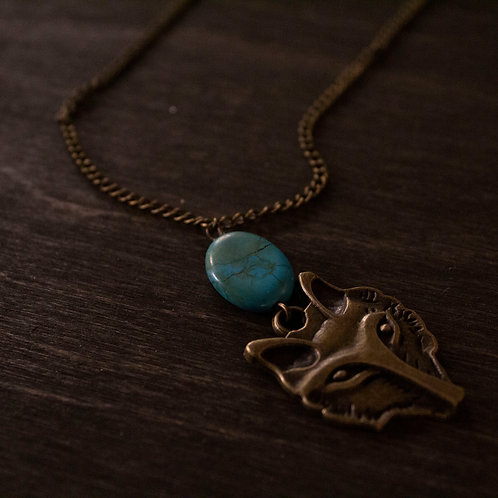 Amongst Wolves necklace