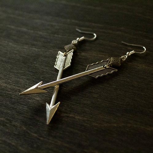 Polished Arrow earrings
