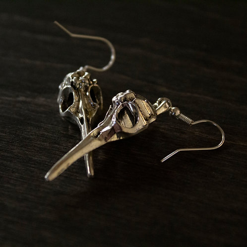 Consider the Ravens & Lilies earrings