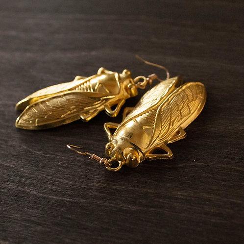 Glory Bug earrings