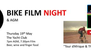 Bike Fim Night & AGM- 19/5/2016