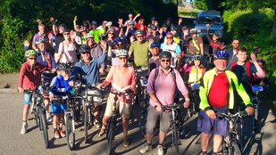 42 riders at Evening Ride!