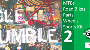 GBG Bicycle Jumble and Sports Equipment Sale 2: Sat 20th Sept 2:30pm