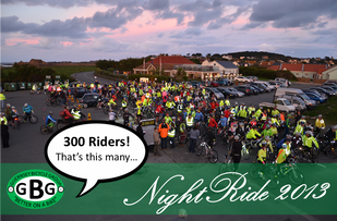 Healthspan NightRide: 12th October 2013, 6:30pm