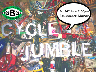 GBG Bike Jumble : Sat 14 June 2014, Sausmarez Manor, 2:30pm
