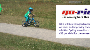 Go-Ride Starts 14th May 2016, 2pm. Registration Now Open