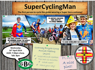 Super Cycling Man talk and AGM announced