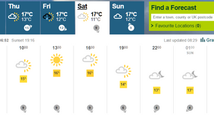 Weather looking bright and clear for Healthspan GBG NightRide 2015