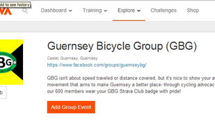 Guernsey Bicycle Group Hits Strava
