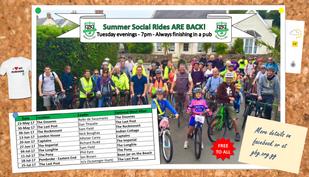 Summer Social Ride Series Announced