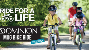 Ride For Life on the MUG Dominion Bike Ride - 5th October 2014