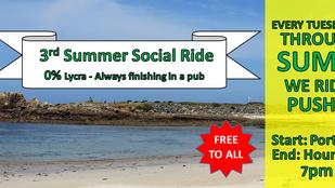 Evening Ride 3: Port Soif/Houmet, Tues 9th June, 7pm