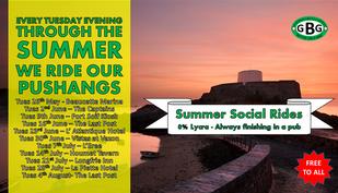 2015 Social Evening Rides Announced