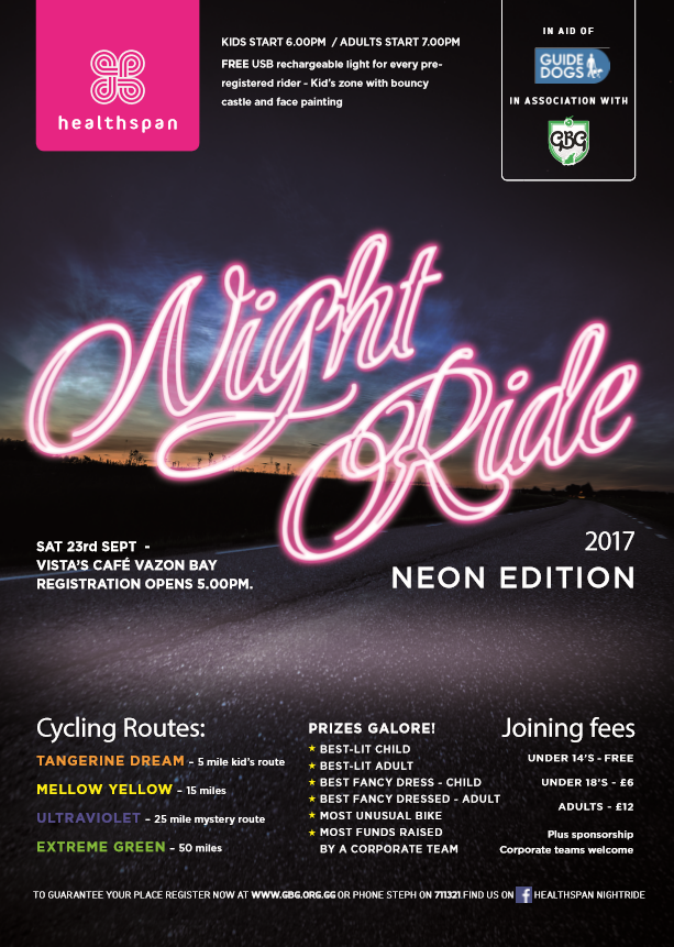 NighTride 2017 Neon edition poster