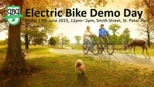 GBG Electric Bike Demo Day