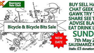 NEW DATE: GBG & GVC Bike Sale