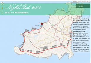 Healthspan NightRide 2014 Routes Announced