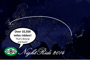 Healthspan GBG NightRide 2014 is Biggest Ever!
