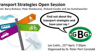 Transport Strategies Open Session Weds 23 April 2014