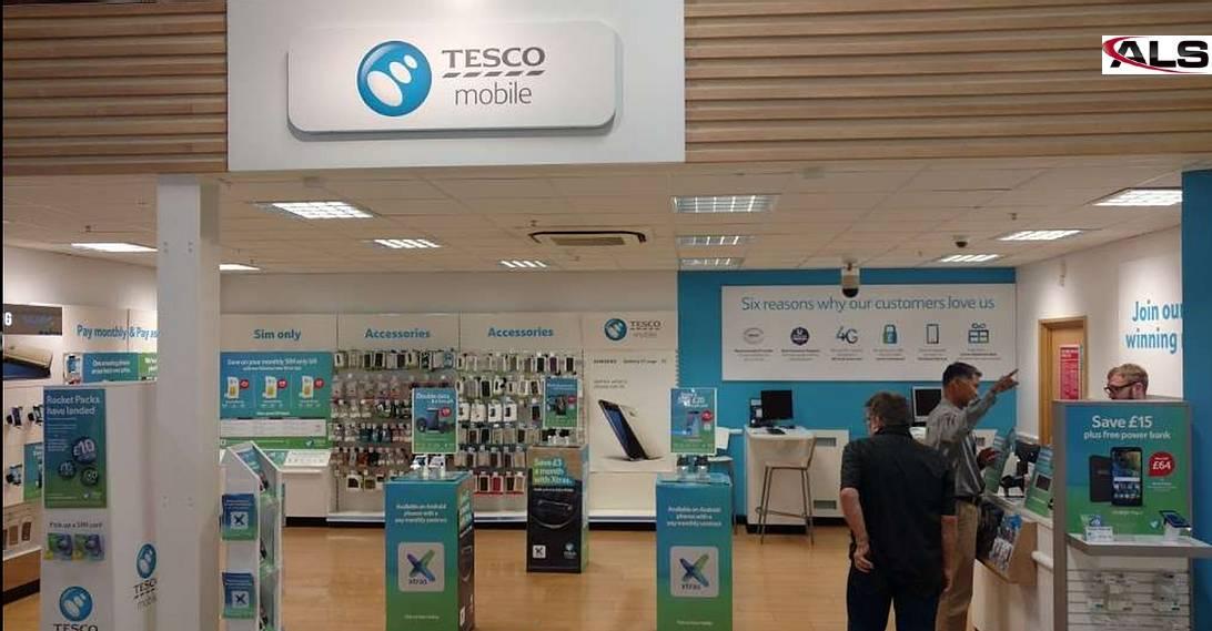 Tesco Phone Shop