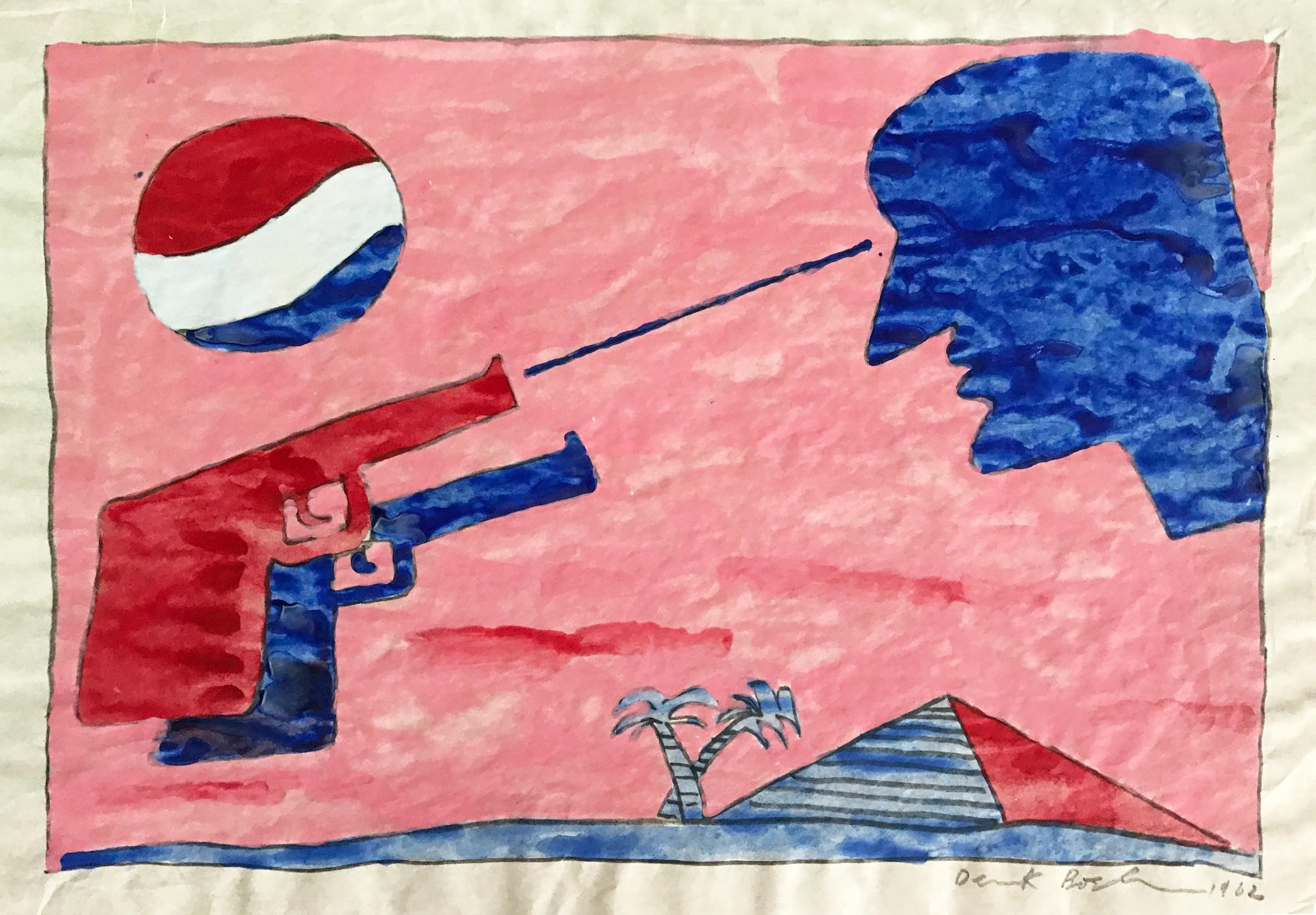 Pepsi Two Guns