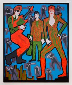 David Bowie, Jack Kerouac, and David Bowie,2016