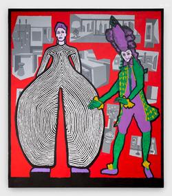 David Bowie and Teresa Cornelys,2016