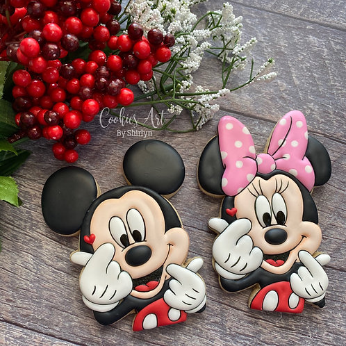 CABS#11 - Mickey Minnie Love Online Cookie Class