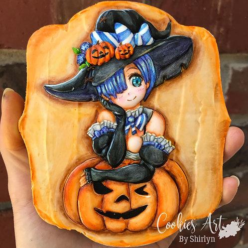 CABS#8- Pumpkin Witch