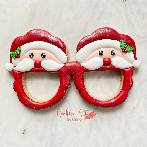 Santa Glasses STL File