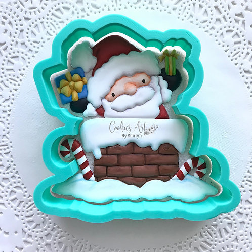 Santa Present STL File