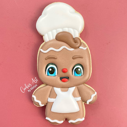 Chef Gingy STL File
