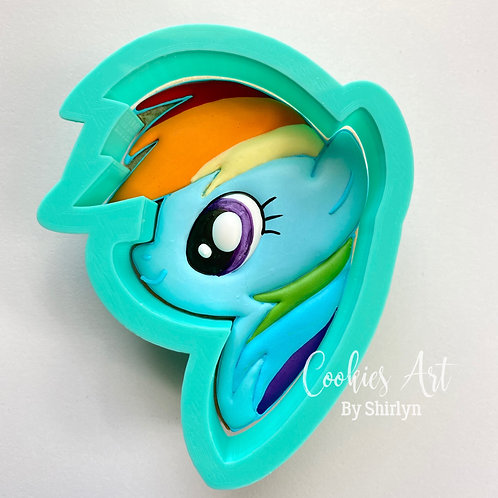 Rainbow Dash Head