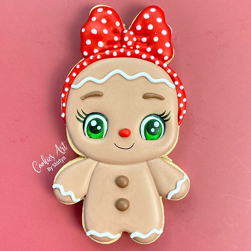 Girl Gingy STL File