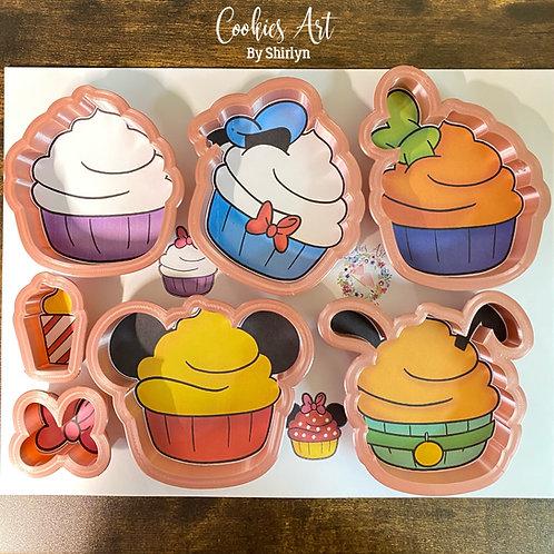 Disney Inspired Cupcake