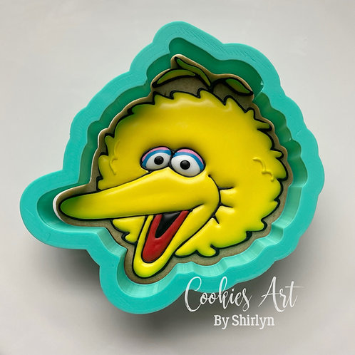 Big Bird Head STL File