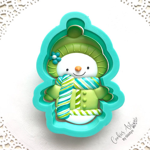 Holiday Snowman STL File