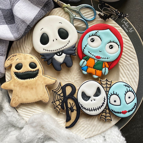 Nightmare Before Christmas STL File Bundle (4 Files)
