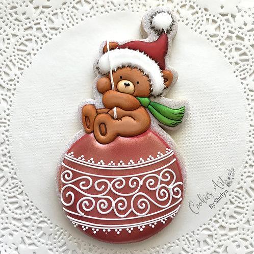 Bear Red Ornament