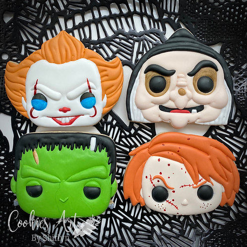 Funko Pop Inspired Halloween Characters Bundle