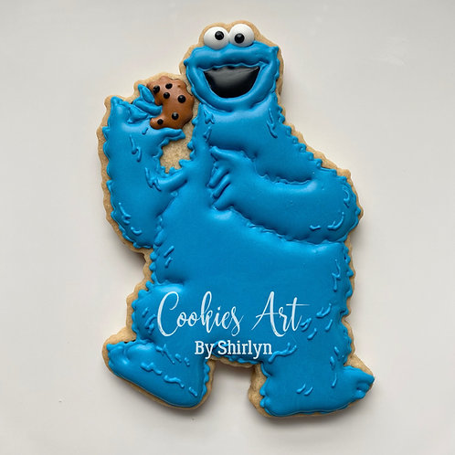 Cookie Monster Full Body