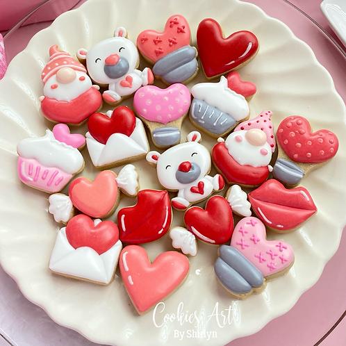 Valentines Rings STL Files