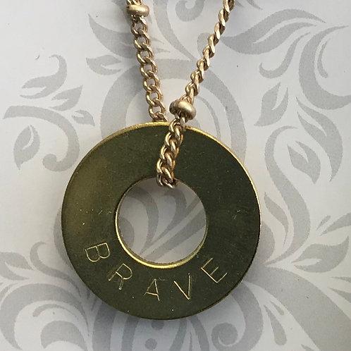 MyIntent Necklace - BRAVE