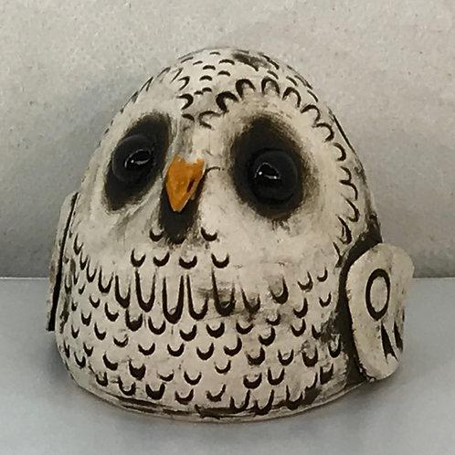 """""""Whooo Knew?"""" - Ceramic Bird Ocarina"""