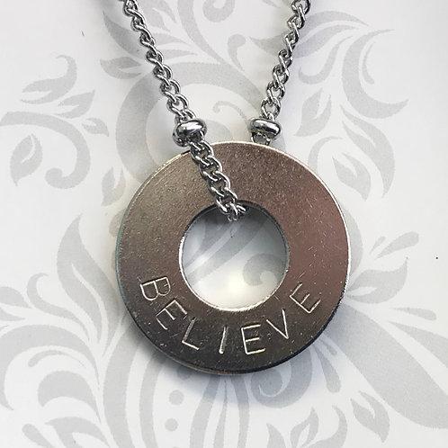 MyIntent Necklace - BELIEVE